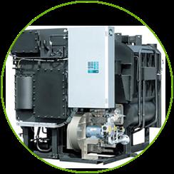ガス吸収式冷温水機